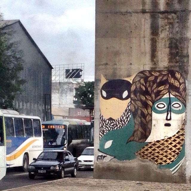 rotina com arte. #streetartrio
