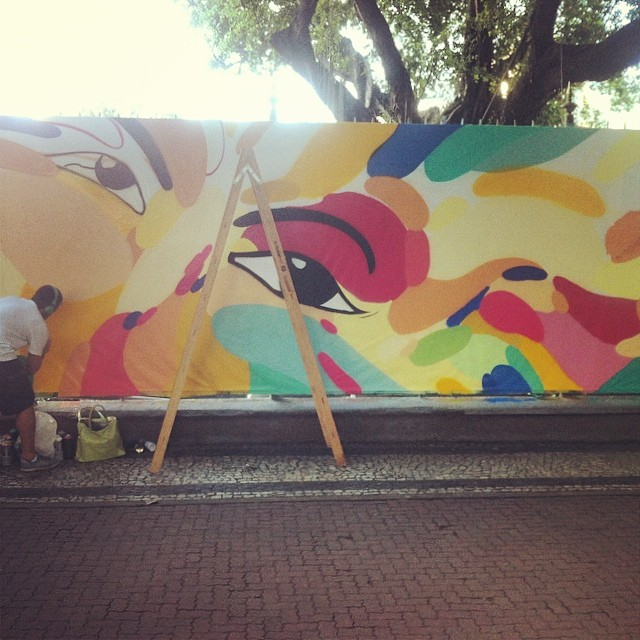 #streetartrio #streetart #graffiti #nicolaumello #ipanema