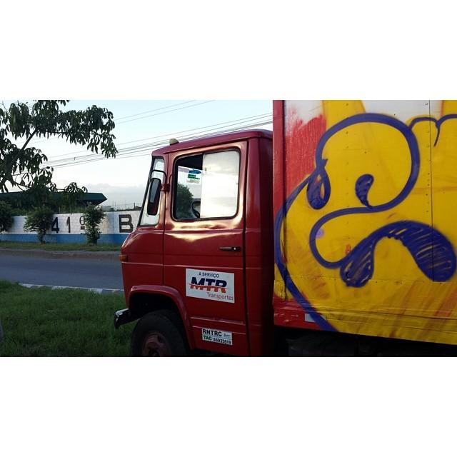 #truck #bomber #streetartRio