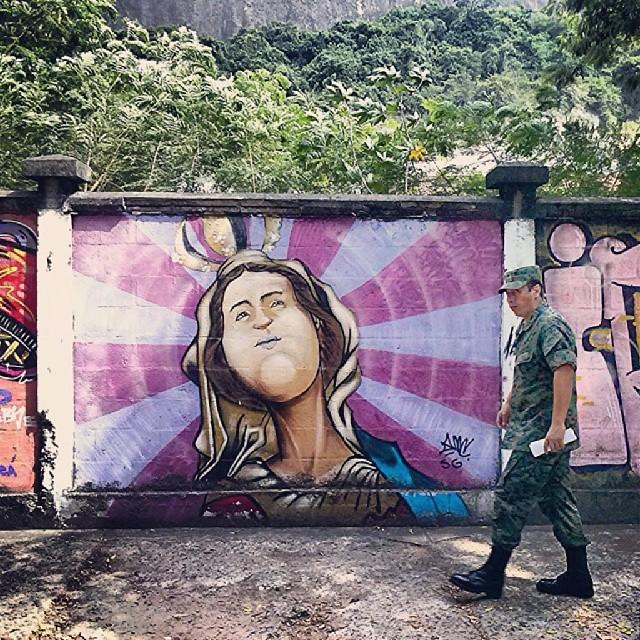 #urca #riodejaneiro #grafite #muro