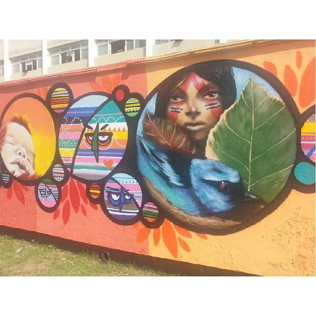 Arte urbana .. a gente vê por aqui ..