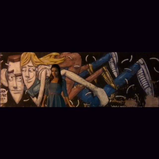 Be art #marceloeco #graffiti #twoisbetterthanone #afonsopena #rio #streetartrio #streetart #art #grafitart