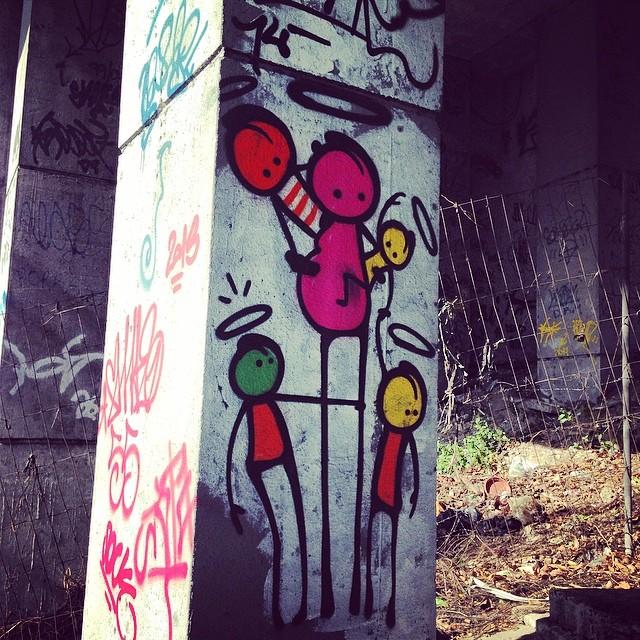 Because I'm a fan! #ijustlovethese #warkdarocinha #streetartrio #streetart #thebest #residents #wark #rio #rj #thebrazilianthing @warkrocinha