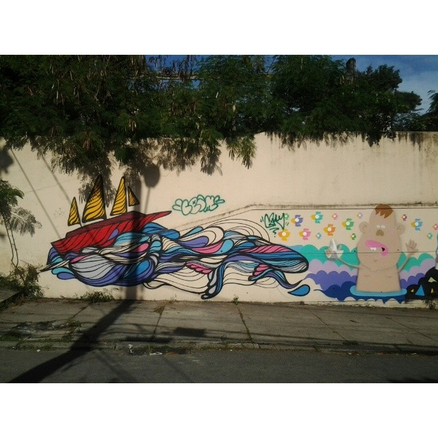 Boa Segunda! #streetartrio #santateresa