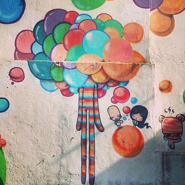 By @tozfbc #cariocarte #streetart #graffiti #jardimbotanico #jb #carioquissimo #grafite #artederua #streetartrio #rioiloveyou #art