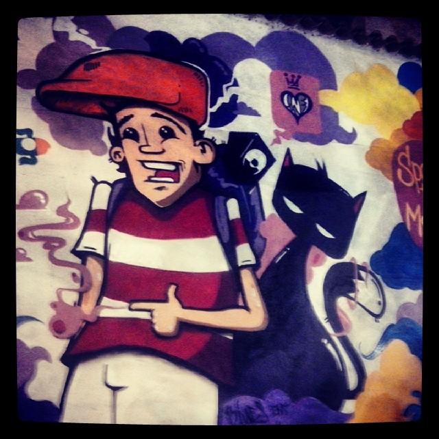 CAP lagoa ... enc rules !!! #streetartrio ... #Biveselecta