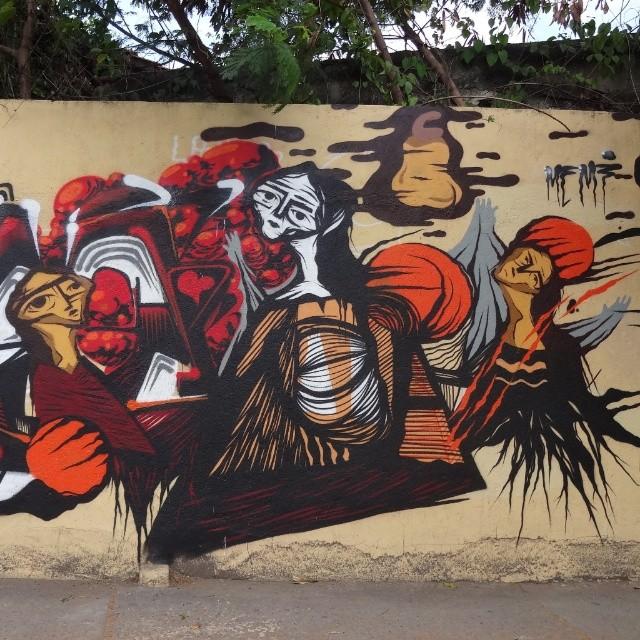Detail of work by @gmemibr . #gmemi #guilhermemi #NRVO #riostreetart #streetartrio #urbanart #graffitiart #artederua #arteurbana #graffitibrasil #riodejaneiro