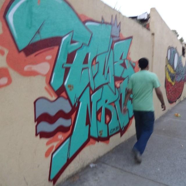 Graffiti art by @betofame . #NRVO #riostreetart #streetartrio #urbanart #graffitiart #artederua #arteurbana #graffitibrasil #riodejaneiro