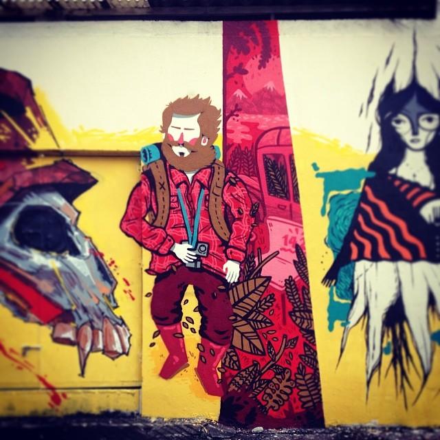 Into the wild! #nrvo #aeg #carvas #viniciuscarvas #riodejaneiro #brasil #streetartrio #intothewild Na foto: davi e @gmemibr