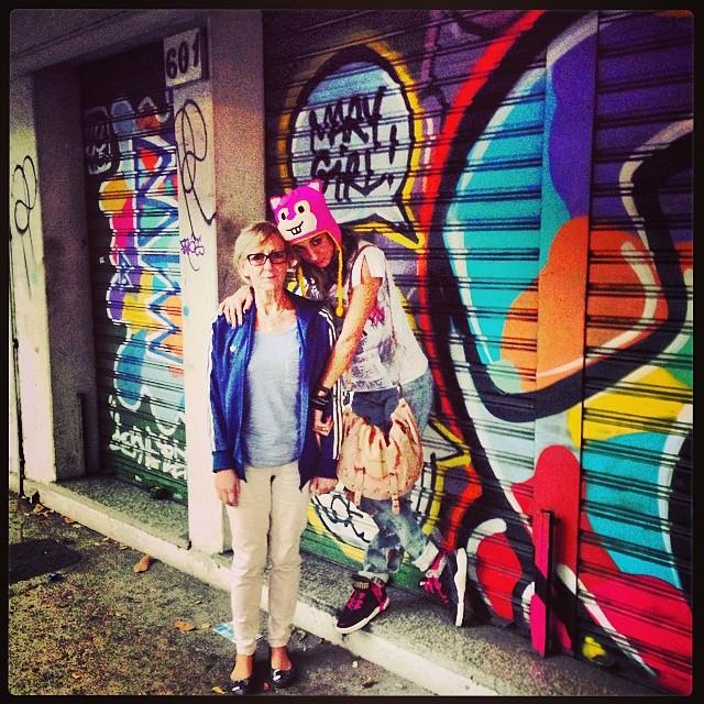 Mamma!!!Tb Nonna!! Amanha ela volta pra casa... #idolnostyle #streetstyle #artederua #streetart #streetartrio #artcollective @idolnoproject