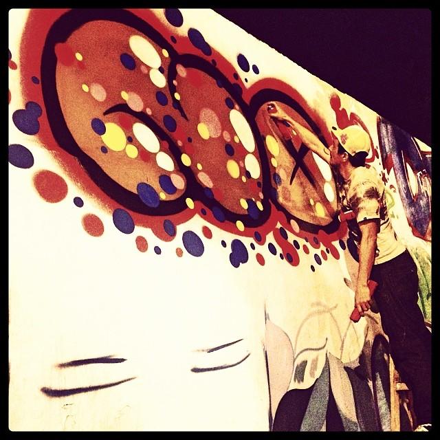 NO #action #djonereal #streetart #streetartrio #graffiti #jb #ppxi @sockppxi @marygirlstyle