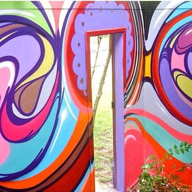 O @marcelolamarca tem um trabalho de grafite incrível e já foi parceiro da @lemodiste em alguns projetos.