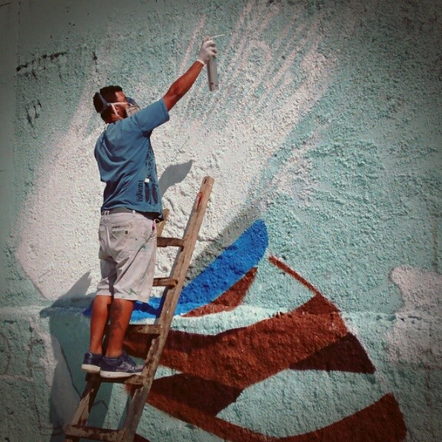 O que tem pra hoje . #krink #escadavelha #marciobunys #streetartrio