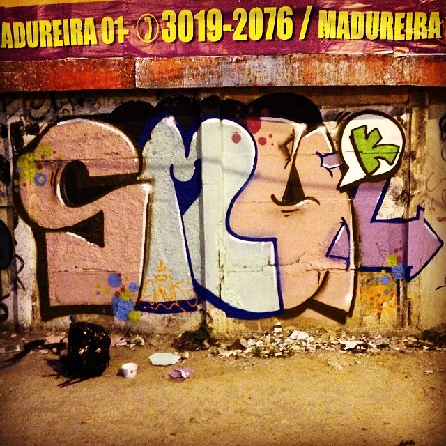SMUk. #instagraffiti #graffitirj #StreetArtRio