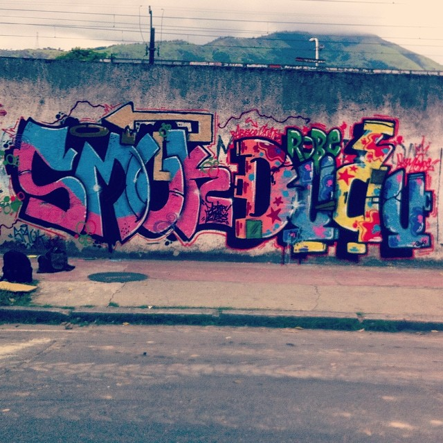 Smuk - Dudu (Ahsm) #instagraffiti #graffiti #vadalism #StreetArtRio