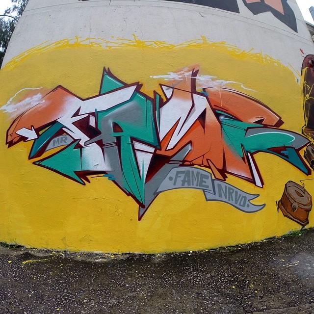 Tijuca . #letra #letter #paint #pintura #graffiti #instagrafite #streetartrio #betofame #fame #fameone #tijuca #riodejaneiro