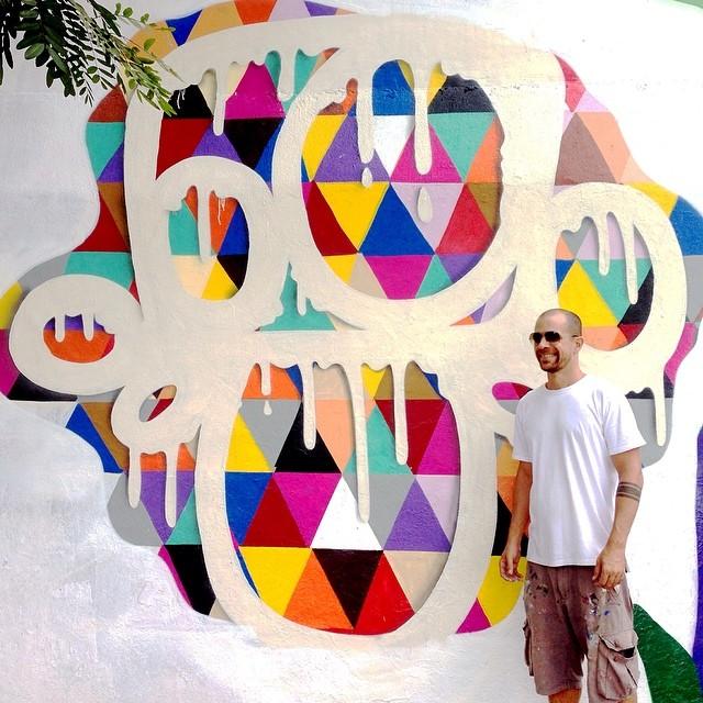 Work by @mga021 at CAP Wall