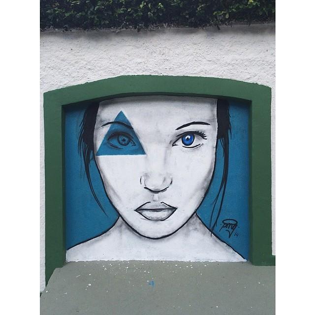 finalizado  na porta de casa • Cosme Velho - Rio de Janeiro #streetartrio #instagrafite