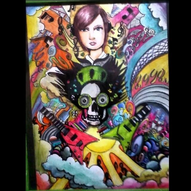 #grafite #ilustration #ilustraçao #arts #artforadults #artwork #montana94 #Newyork #surrealism #streetartrio #blackbook