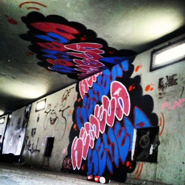 #streetartrio #streetart #bomb #graffiti #bombstyle