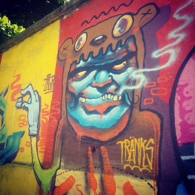 #zagri #streetartrio #graffiti #tranks
