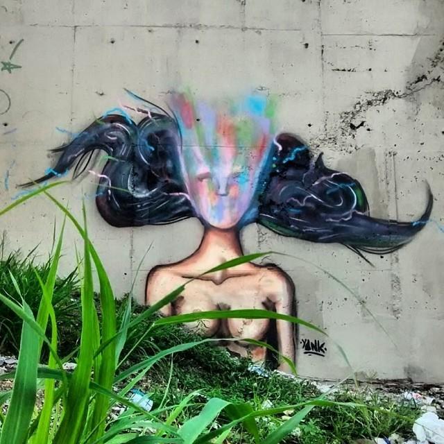 2014 - Maria da Graça #instagrafite #graffiti #grafite #art #arteurbana #arte #streetartrio #xarpi #suburbiocarioca #riodejaneiro #rio