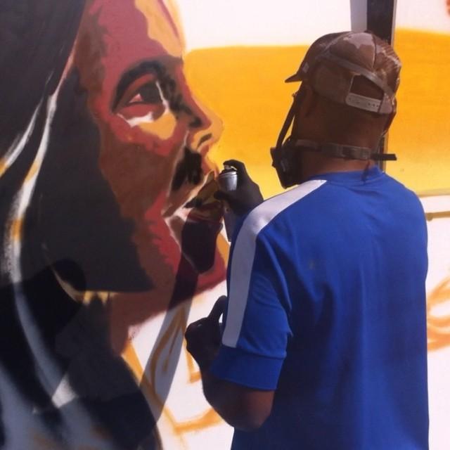 @airaocrespo fazendo arte no RIO! #rioculturacarioca #instagrafite #streetartrio