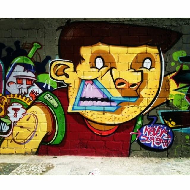 @brunolifekvk #kovokcrew #streetartrio #graffiti