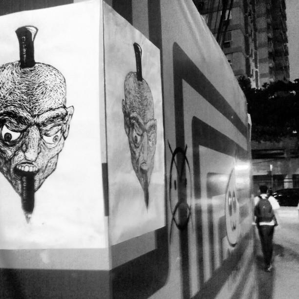 @dudebarros #streetartrio #gregario #suricato #arte #design