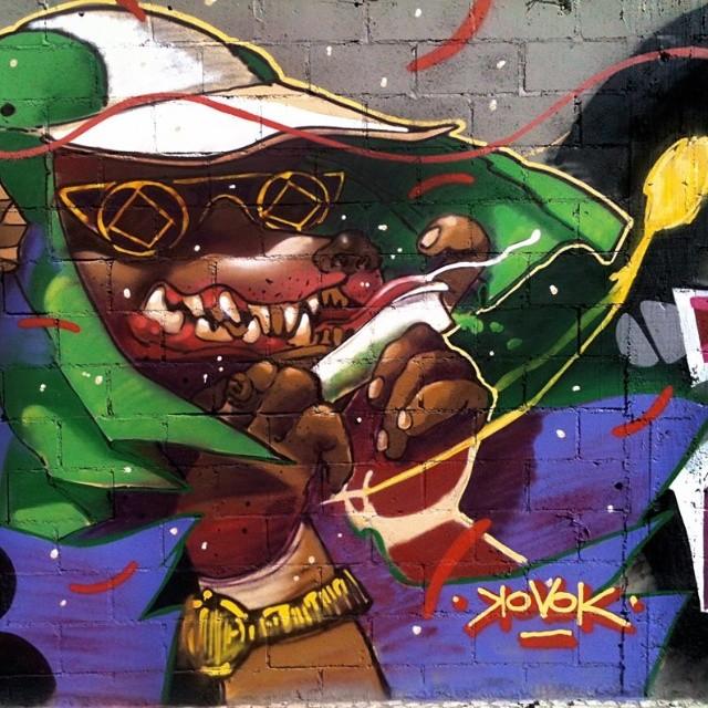 @rena_machado #kovokcrew #watafokiskovok #graffiti #streetartrio #renakvk