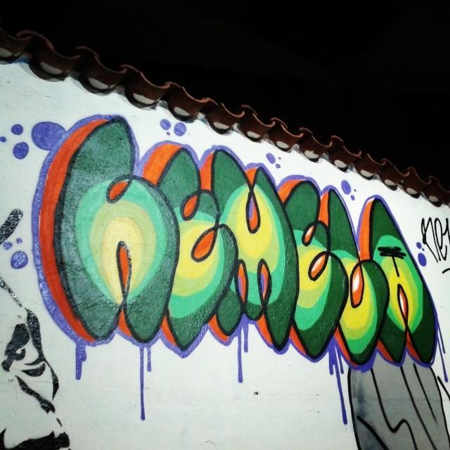 Abacate? #streetart #streetartrio #bomb #graffiti #colors #paint