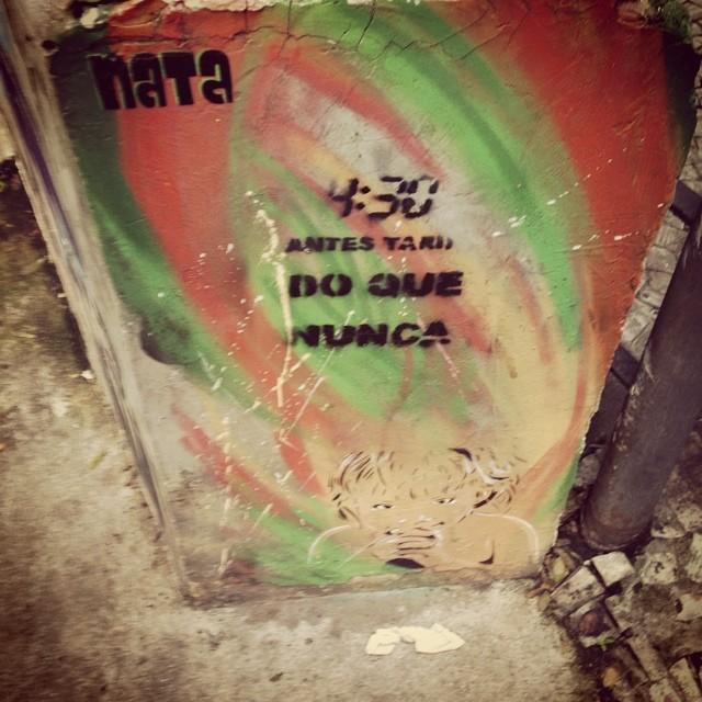 Agreed!!! #420 in da house! @natafamilia #graffiti #natafamilia #streetartrio #rj