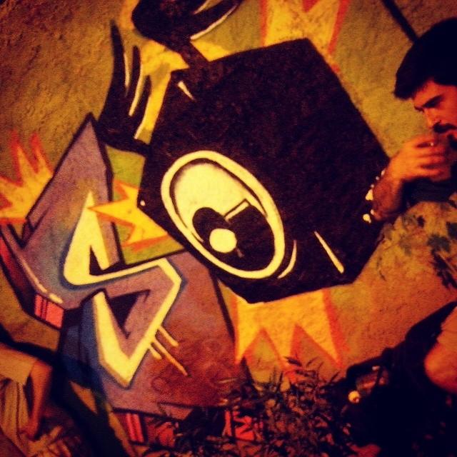 Amplificando com ch2 e Nitcho ... #instagraffiti #graffitirj #streetartrio #biveselecta