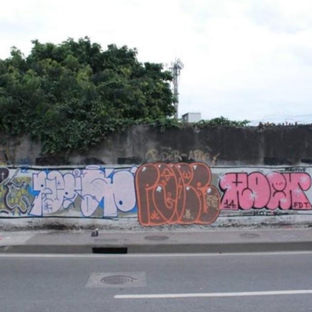 Avenida brasil ramos. #classicgraffiti #tagsandthrows #graffitirj #imagempublicadarebeldia #ruasdazn #StreetArtRio