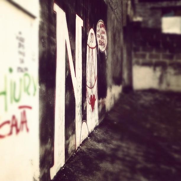 Bomb! #Nadi #monstrodanuvem #streetartrio #streetart #urbanart #graffiti #atp #