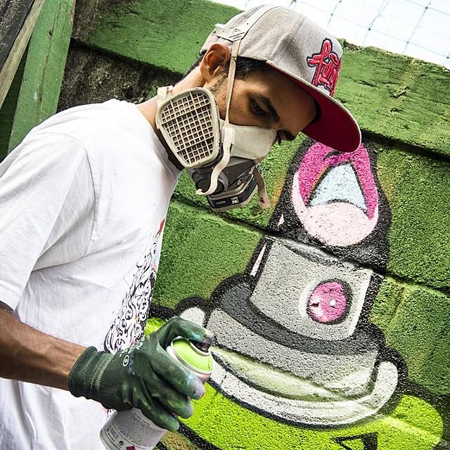 Bruno Life em evento da rede Nami. #torcidagraffiti #streetartrio #streetart #instagrafite #graffitilovers #brunolifekvk #kovokcrew