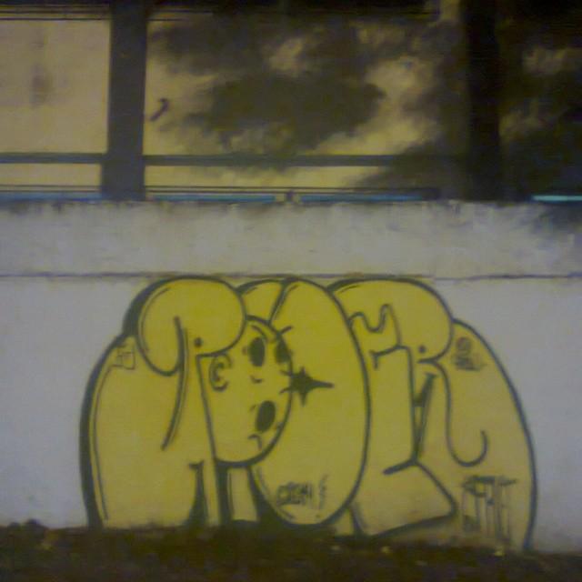Cg #carreirasolo #estiloriginal #artistasurbanoscrew #StreetArtRio #graffitirj