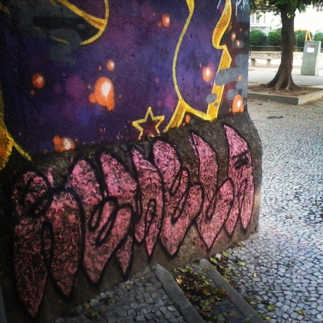 Chapiscão pra não perder a viagem. #bomb #graffiti #streetart #streetartrio