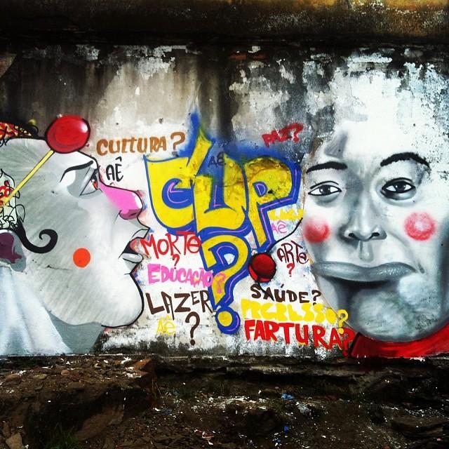 Cup? Participação no evento copa pra quem aqui no complexo! #zecoaepen #jeffseonaepen #aepencrew #complexodoalemao #streetartrio #streetart #streetart #ruasdazn #spray #latex #soltos #instagrafite #instagraffite #art #artrua