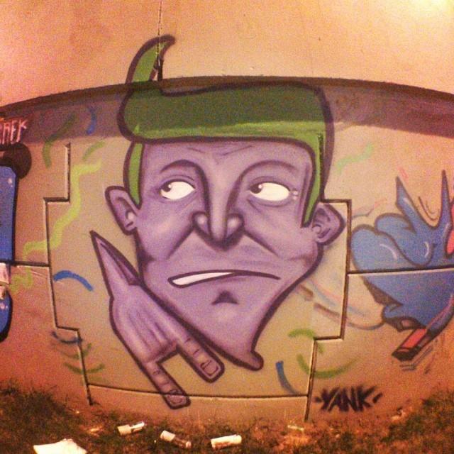 Del Castilho 2013 #instagrafite #graffiti #grafite #streetartrio #galerio #delcastilho #art #arte #arteurbana #suburbio