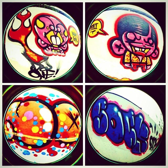 Djone & Sock #streetart #djonereal @sockppxi @marygirlstyle #ppxi #graffiti #streetartrio