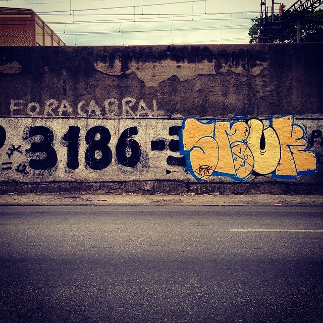 I love bomb. #bomb #ruasdazn #graffiti #StreetArtRio