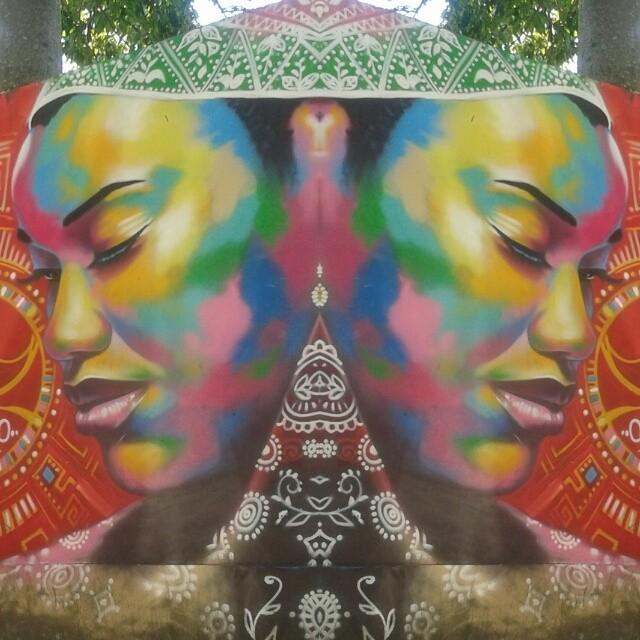 Mama África. #streetartrio #RJ #Vidigal