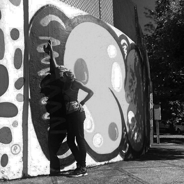 NO @marygirlstyle #djonereal #streetartrio #streetart #graffiti