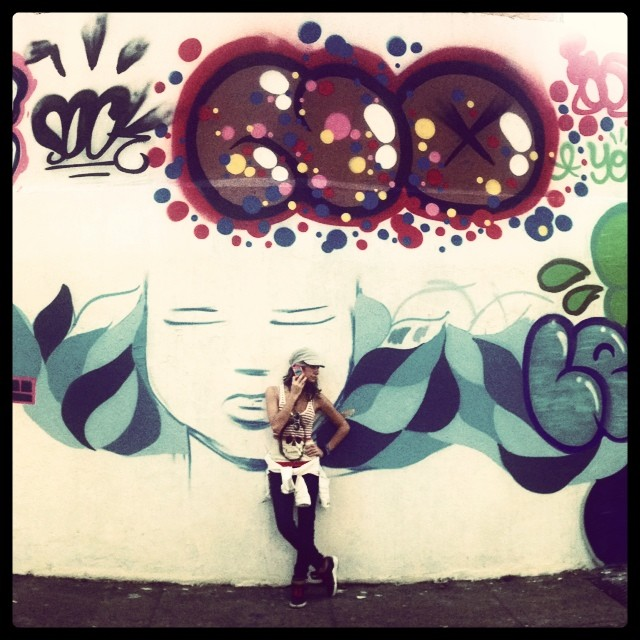 NO call @marygirlstyle #graffiti @sockppxi #djonereal @dicoutof @hellogabriel_7 #streetartrio #streetart