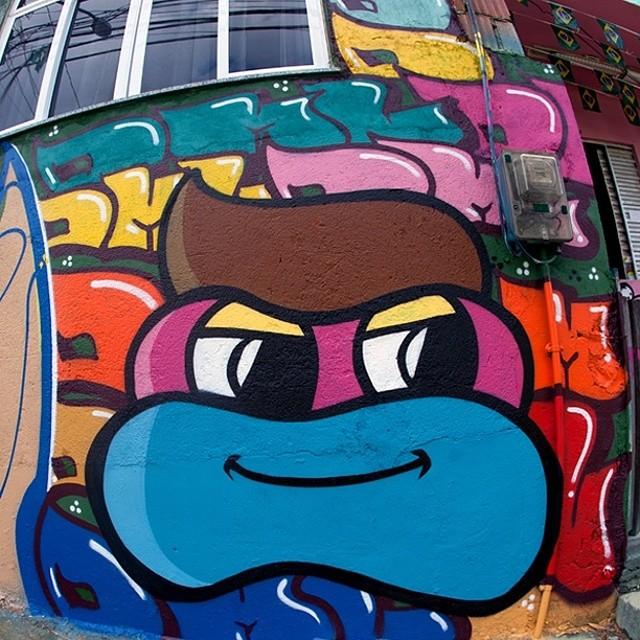Obrigado pelo convite @redenami @avongraffiti @kobrapaintbrasil #torcidagraffiti