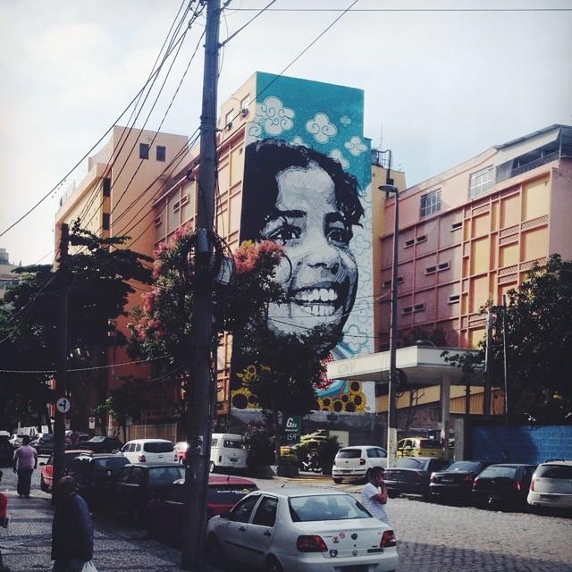 Queria saber de quem é essa coisa linda! #vscocam #streetartrio #urbanart