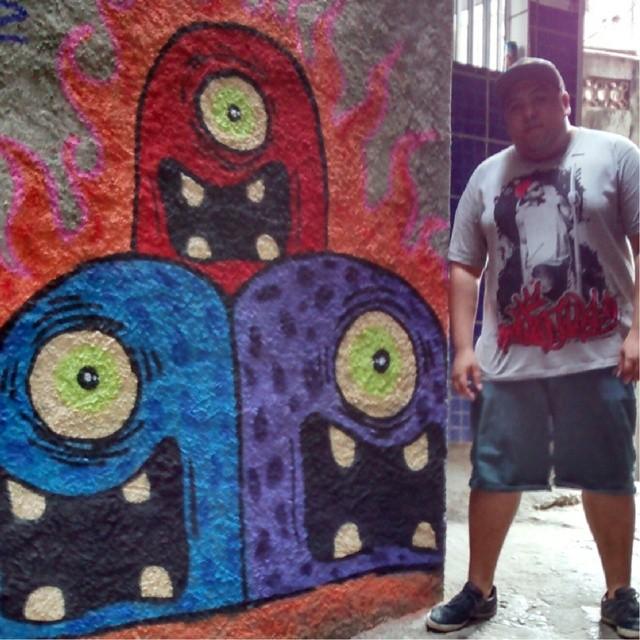 #StreetArtRio #Graffiti #Galerio #RJ #Rocinha