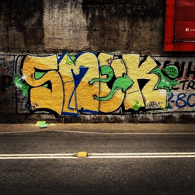 #StreetArtRio #ruasdazn #letters #graffiti