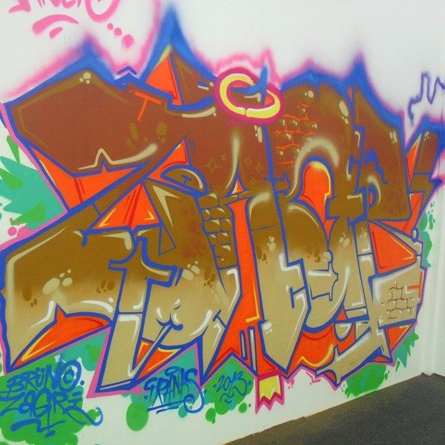 #ZAGRI #graffiti #letter #piece #arteurbana #brasil #streetartrio #graff #Sesc